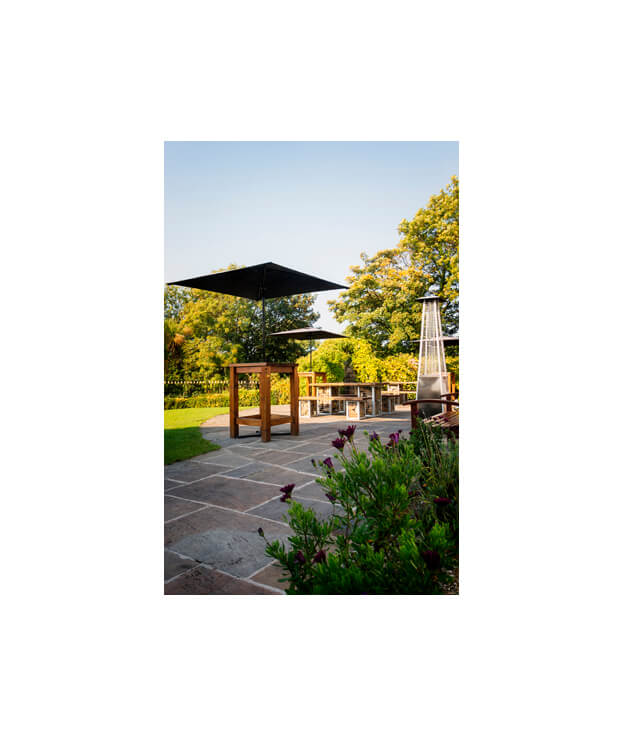 afternoon tea landscaped gardens