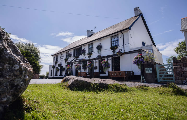 best pub swansea Gower