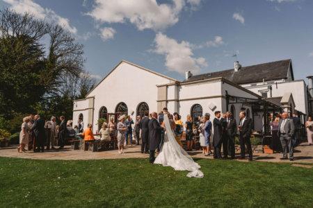 wedding venue reception Gower