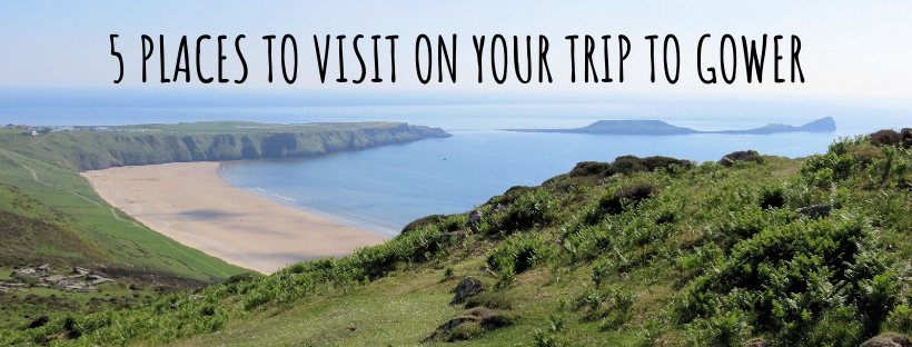 5 Places to Visit on Your Trip to the Gower Peninsula