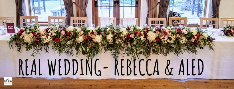 Real Wedding |Aled & Rebecca's Winter Wedding