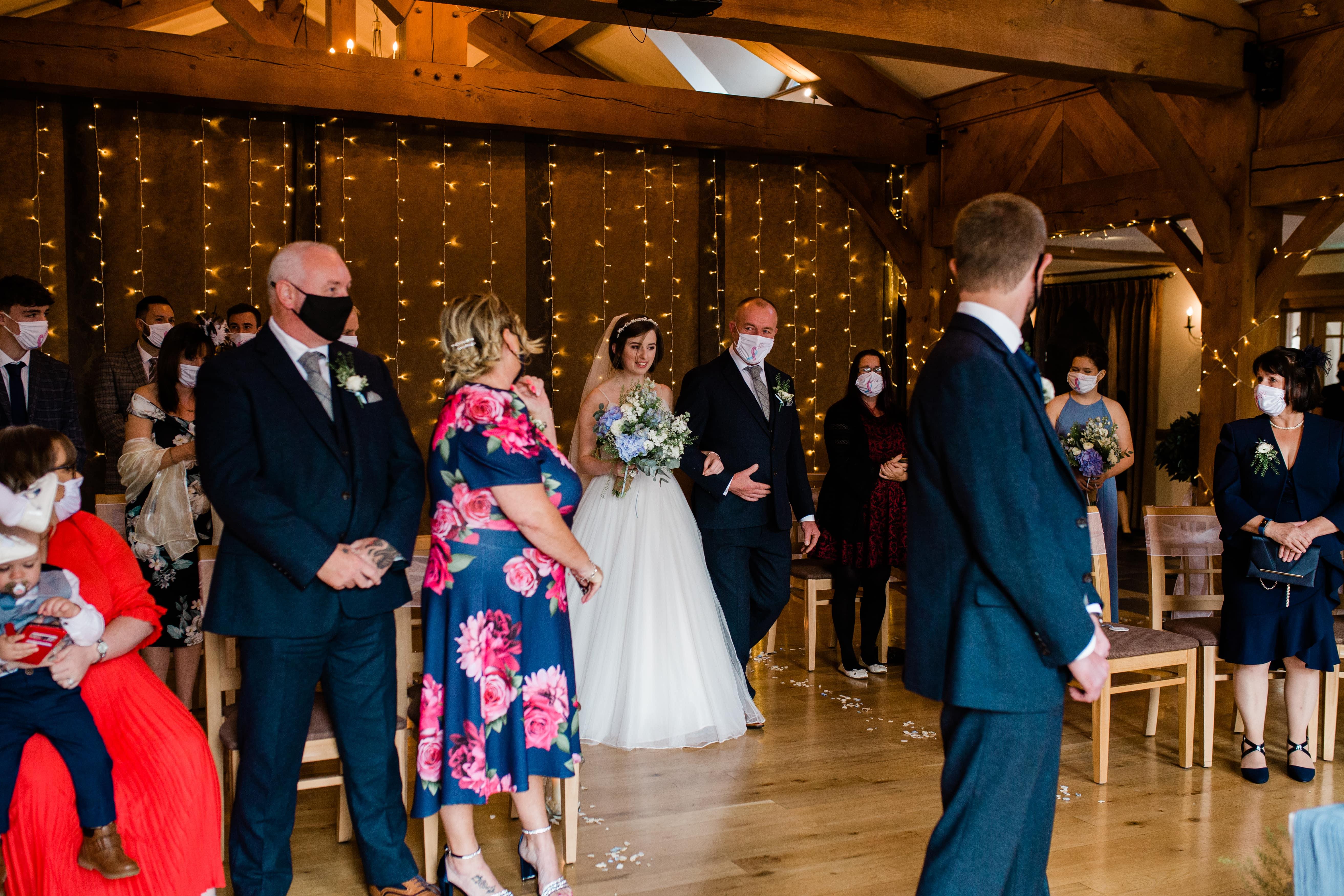 small wedding ceremony swansea