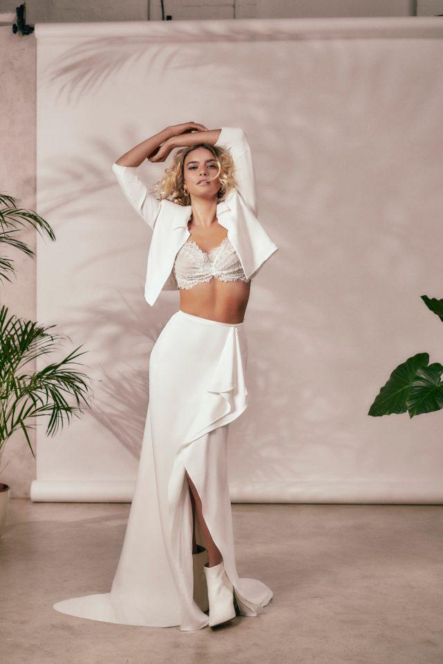 stephanie allin statement dress 2021 weddings